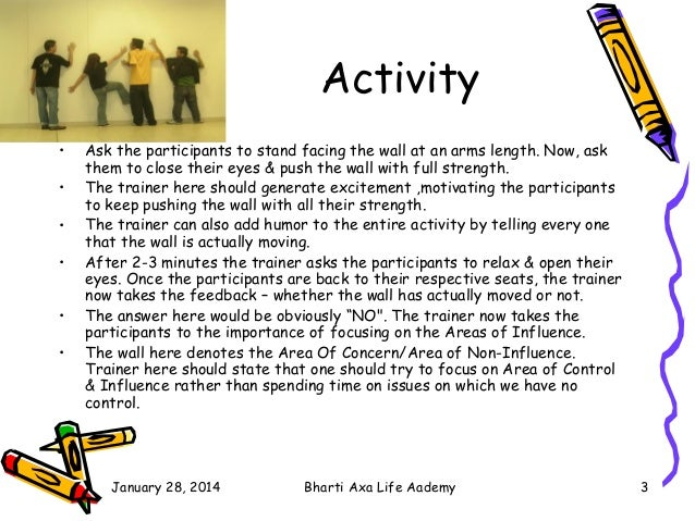 Training games Slide 3