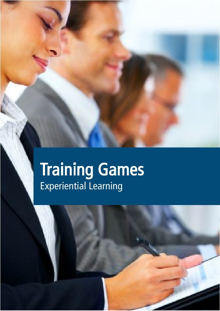 Training Games Experiential Learning