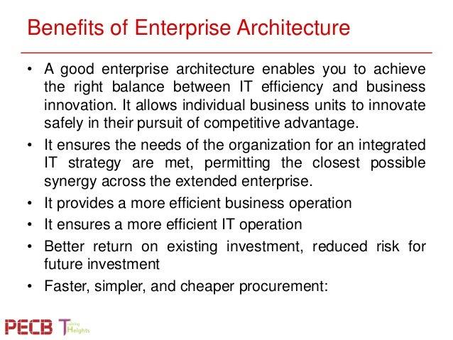 Benefits Of Enterprise Architecture ...