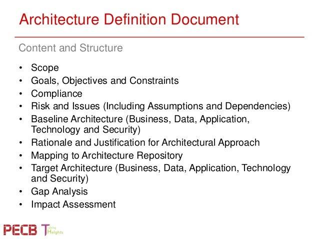 Pecb webinar aligning itil iso 20000 service design and for Togaf definition