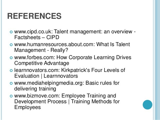 cipd level 3 learning and development