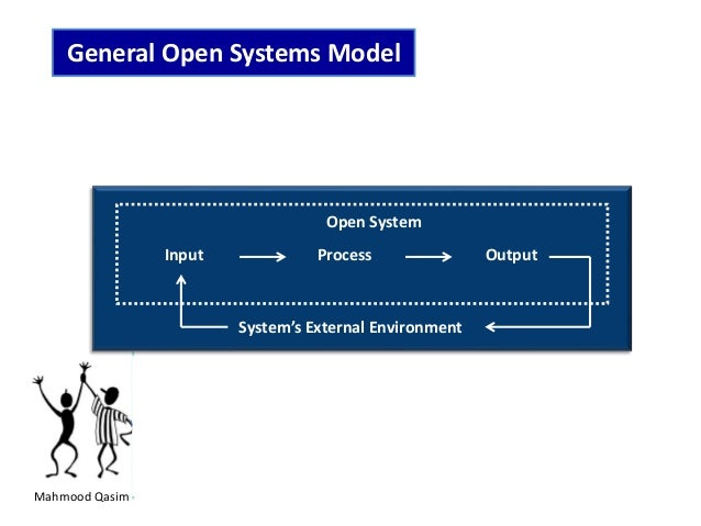 what is open system model