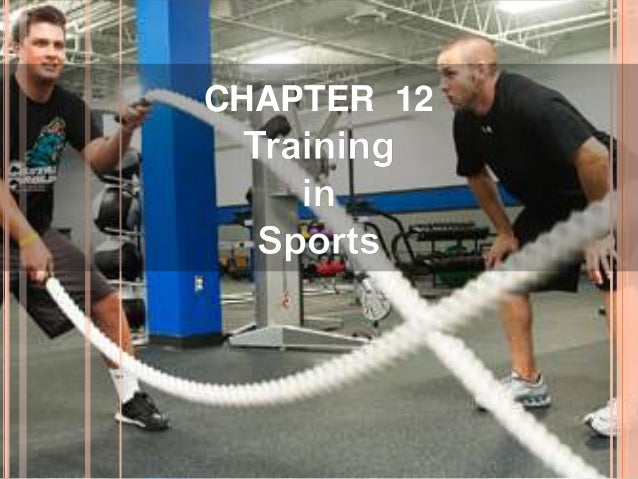 Training in sports Slide 2