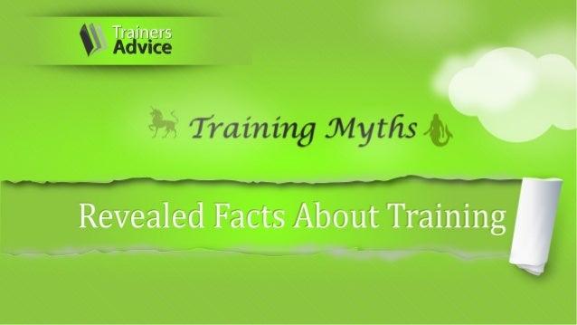 Training Myths Info
