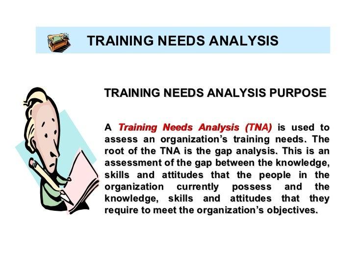 7 A Training Needs Analysis