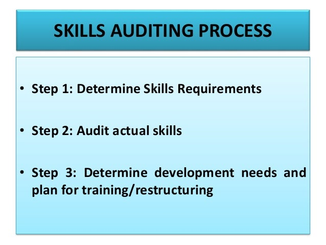 auditing analytical and logical skills The study of auditing analytical and logical skills much more conceptual in nature rules, techniques and computations to prepare and analyze financial.