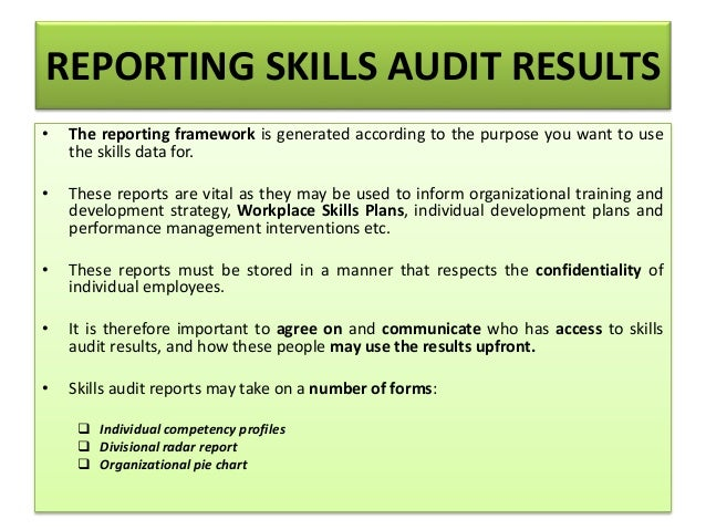 training needs analysis and skills audit Training needs analysis is a structured approach to identifying the learning & development needs of individuals against the skills & competencies required to be effective in their role.