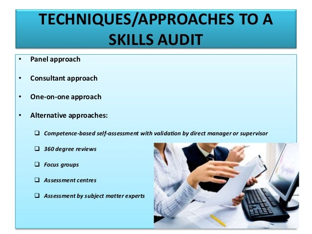 Training Needs Analysis, Skills Auditing & Evaluation