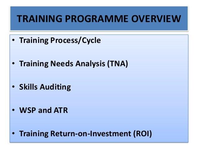 Training needs analysis, skills auditing and training roi presentation 31 august 2015 Slide 2