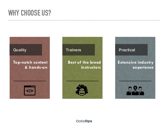 Training Offerings - CodeOps Technologies Slide 2