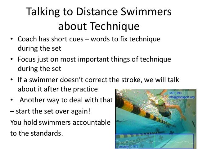 how to become a distance swimmer