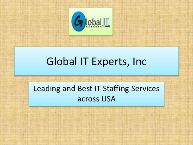 Global IT Experts, Inc Leading and Best IT Staffing Services across USA