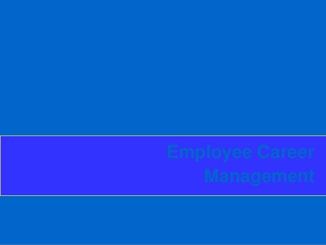 Employee Career Management