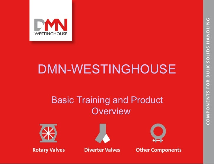 DMN-WESTINGHOUSE Basic Training and Product Overview