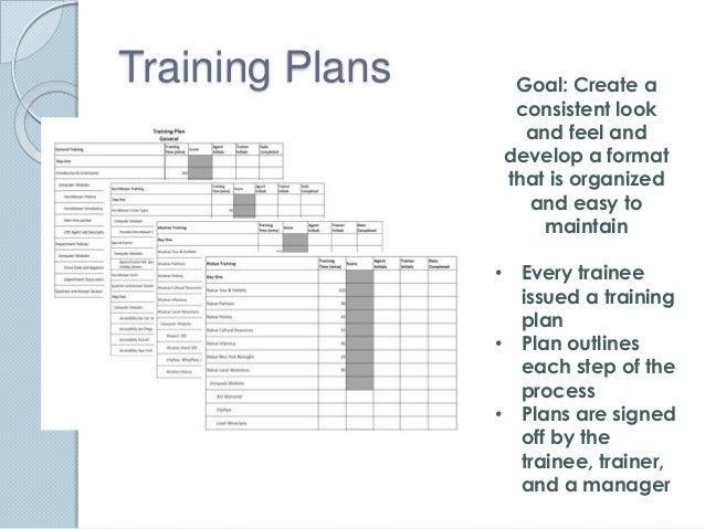 Training Plan Format Dolapgnetband