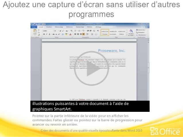 training presentation create visually compelling documents in word