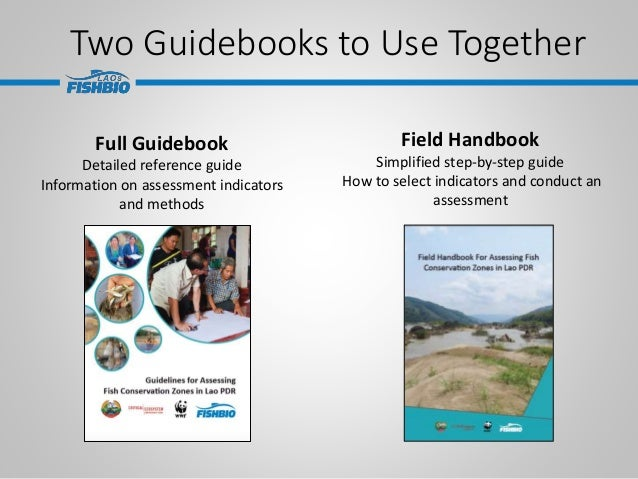 Two Guidebooks to Use Together Full Guidebook Detailed reference guide Information on assessment indicators and methods Fi...