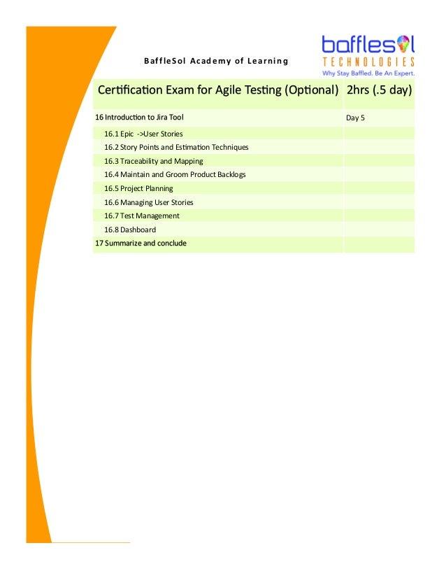 Training Program Bafflesol Academy Of Learning