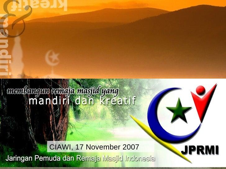 CIAWI, 17 November 2007