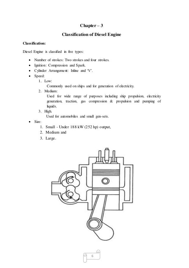 Training report on Diesel Engine's component Engine head