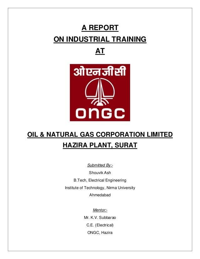 PRESENTATION ON SUMMER INTERNSHIP/ TRAINING IN ONGC Ltd - PowerPoint PPT Presentation