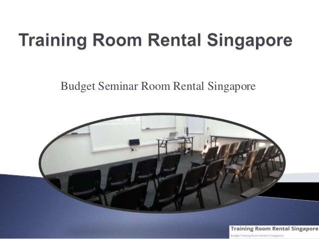 Budget Seminar Room Rental Singapore