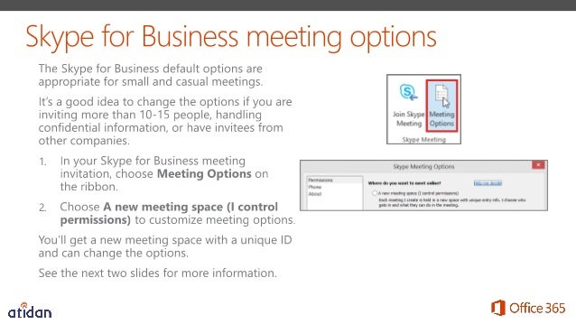 Run More Effective Meetings with Skype for Business