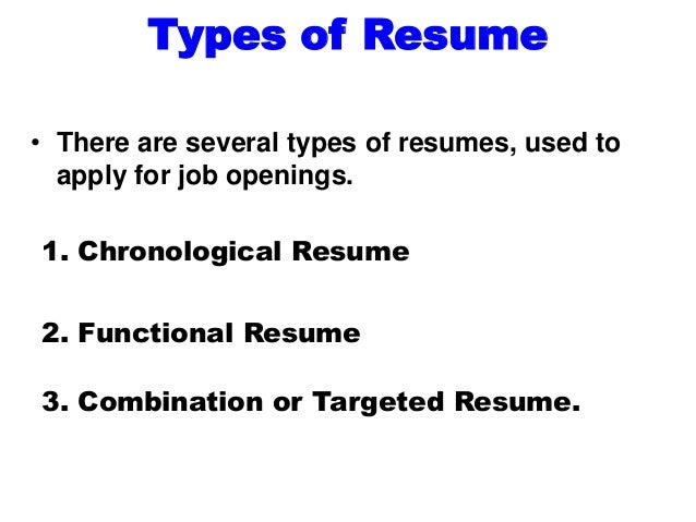 your resume should reflect the kind of skills the employer would value 7