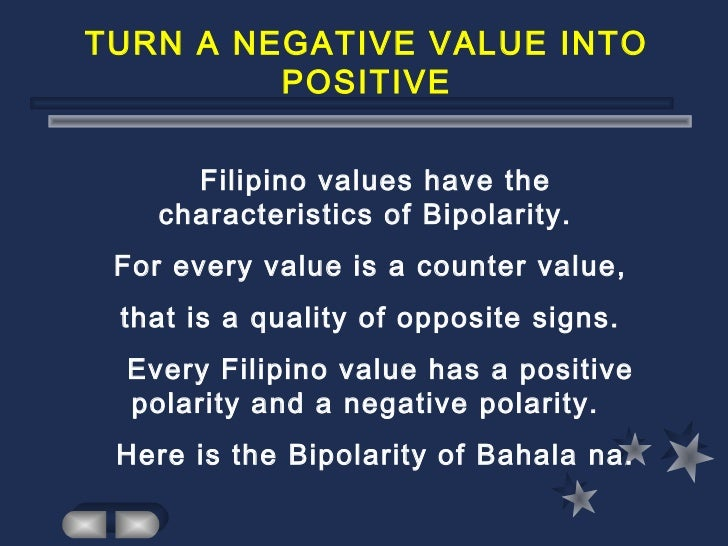 undesirable traits of filipinos The filipino masculinity subscale included positive traits such as traits that were identified as being and negative (ie, socially undesirable).
