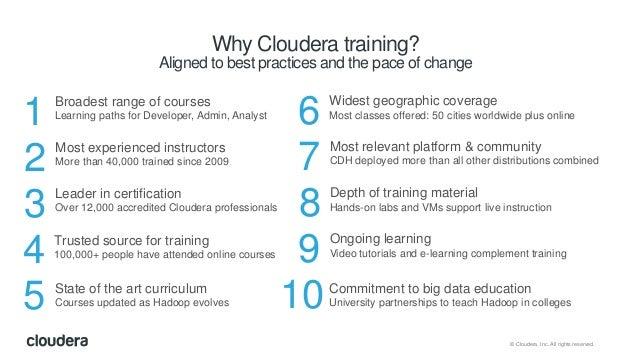 Cloudera training: secure your Cloudera cluster Slide 3