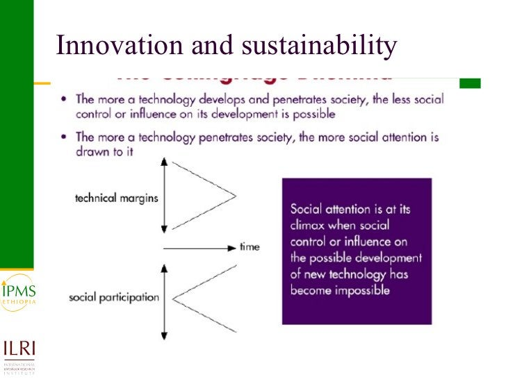 Innovation and sustainability