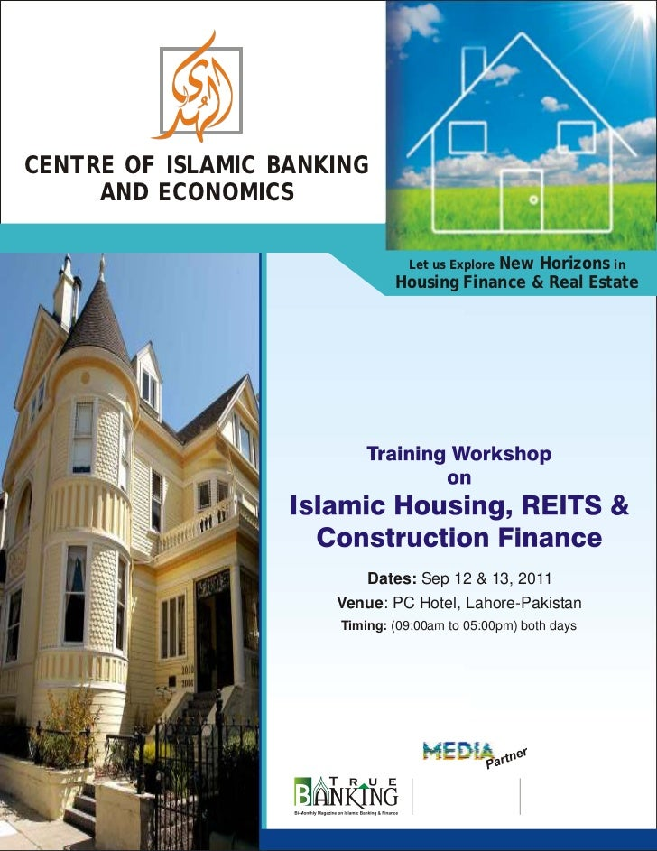 CENTRE OF ISLAMIC BANKING     AND ECONOMICS                                          New Horizons in                      ...