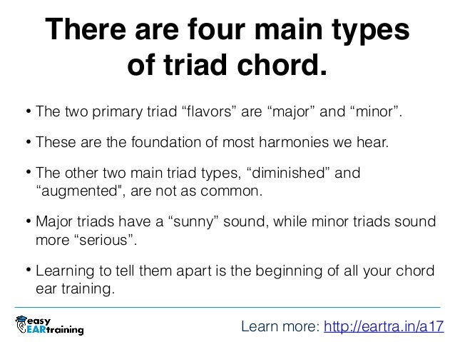 Training Your Ears For Chords