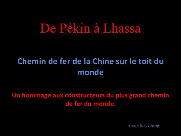 Train le plus_haut_du_monde___lhassa__