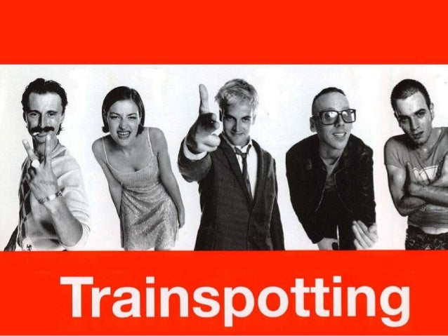 Setting  Trainspotting opens with a clip from the middle  of the movie. The placement of this clip is used  to foreshadow ...