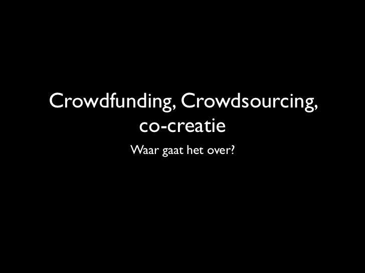 Crowdsourcingtekst