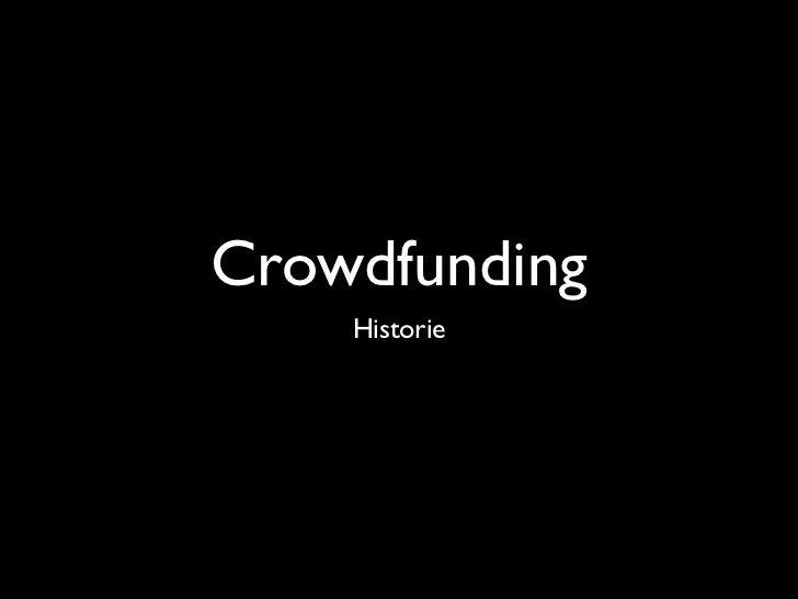 CrowdfundingNiet alleen voor donaties aan goede doelen