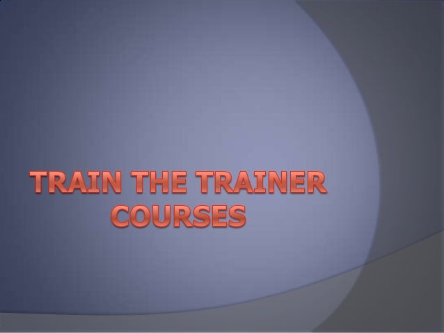 Whether you are preparing to be a professional trainer, or you are someone who does a bit of training as a part of their j...