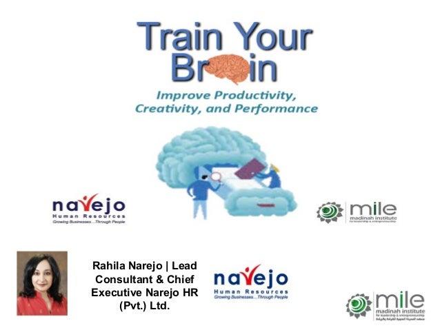 Rahila Narejo | LeadConsultant & ChiefExecutive Narejo HR(Pvt.) Ltd.