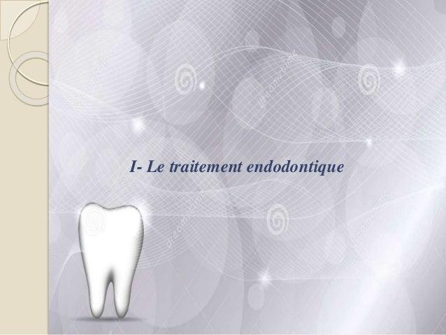 Traitement endodontique : cavité d'accès Slide 3