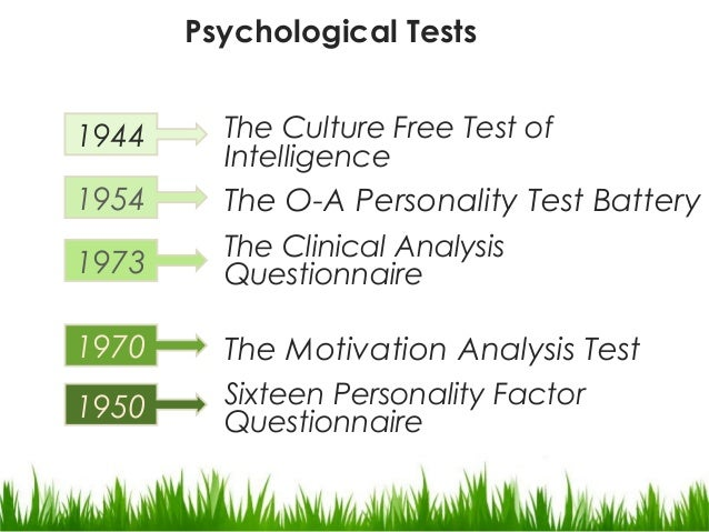 trait paradigm of psychology for intelligence What intelligence tests miss: the psychology of  grit in psychology is a positive, non-cognitive trait based  or modern mental test theory , is a paradigm.