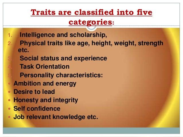 leadership trait theory Leadership leadership • leadership perspectives/theories • trait theories • behavioral theories • contingency theories • leader-member exchange theory.