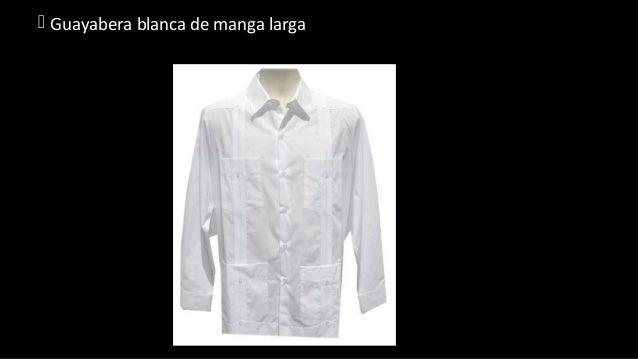 35a4bf0df Guayabera blanca de manga larga ...