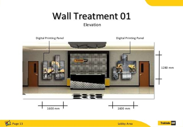 2nd Floor Elevation Design : Trakindo presentation by devin with kotakdesign team