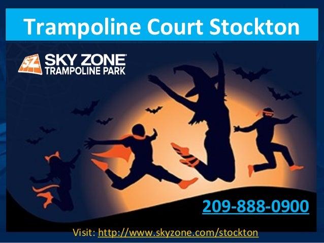 Trampoline Court Stockton 209-888-0900 Visit: http://www.skyzone.com/stockton