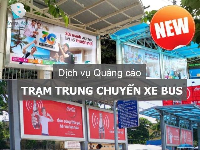 TRẠM TRUNG CHUYỂN XE BUS Dịch vụ Quảng cáo