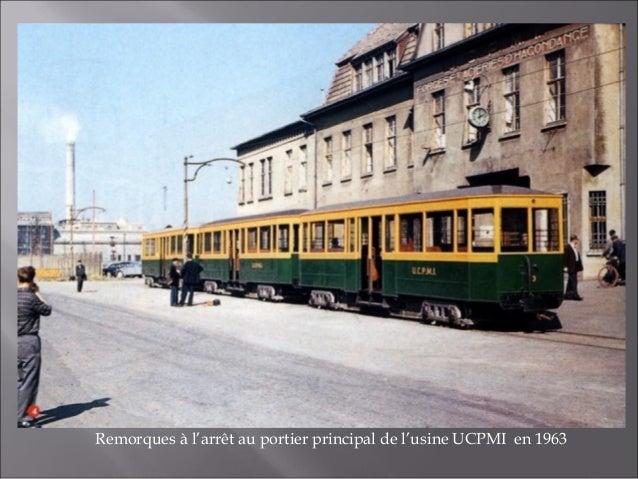 Convoi venant de Maizières-lès-Metz en approche du portier principal