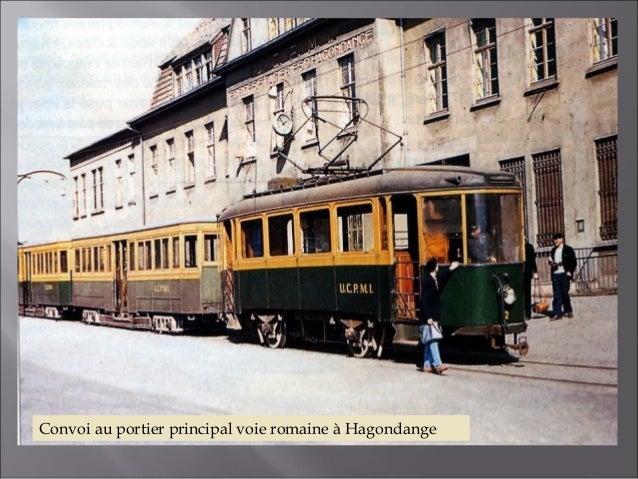 Motrice AEG en partance pour la gare d'Hagondange