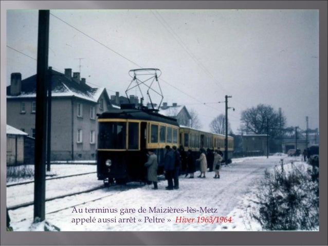 Arrêt terminus «Peltre» Maizières-lès-Metz