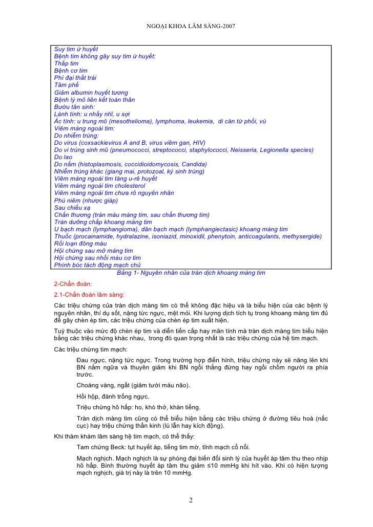 NGOẠI KHOA LÂM SÀNG-2007   Suy tim ứ huyết Bệnh tim không gây suy tim ứ huyết: Thấp tim Bệnh cơ tim Phì đại thất trái Tâm ...